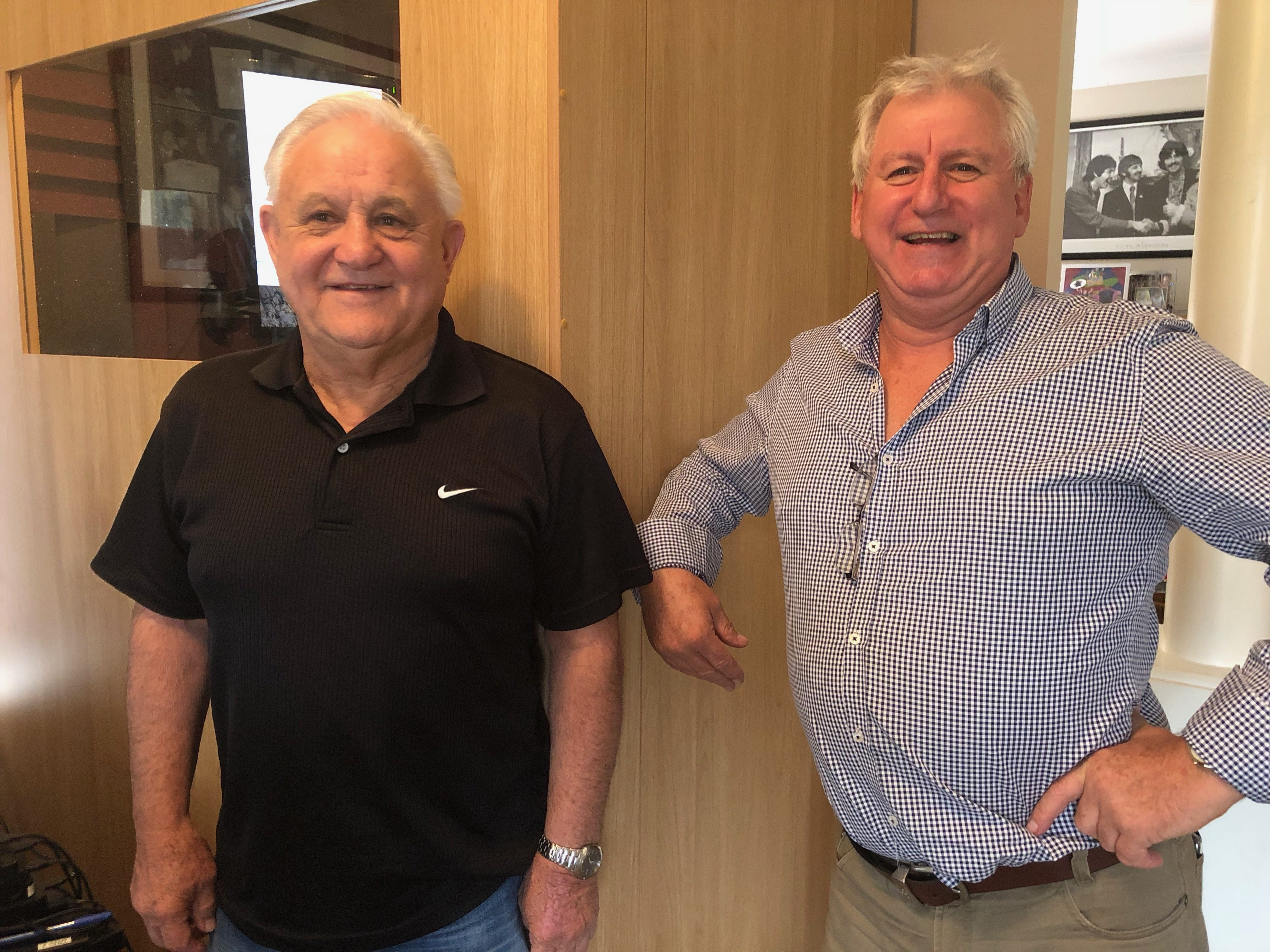 Neville Mannix & Alan Lark